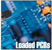 Loaded PCBs